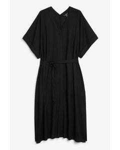 Maxi Beach Dress Black