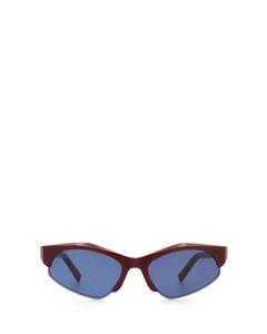 SM0004 shiny red Sonnenbrillen