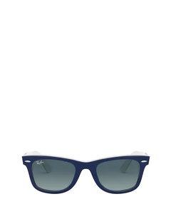 RB2140 blue on white Sonnenbrillen