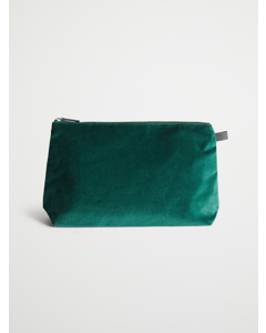Velvet Green Cosmetic Large Petrol