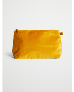 Velvet Yellow Cosmetic Large Yellow