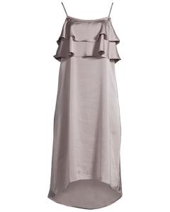 Sofie Frill Dress Silver