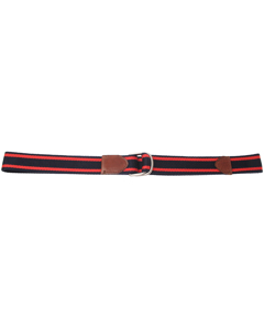Sdlr Belt Male       Navy/red