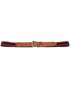 Sdlr Belt Male       Red/navy