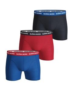 Björn Borg 3-pack Boxers Contrast Multi Elastic Multi
