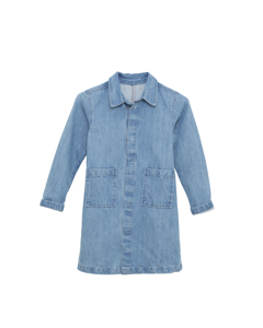 Liana Denim Coat Blue