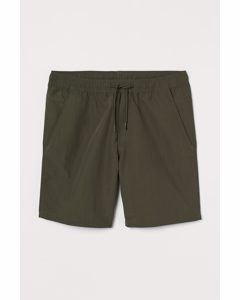 Shorts Regular Fit Dunkles Khakigrün