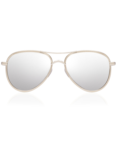 Luxe - Empire Gold W/ Silver Mirror Lens