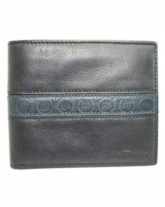 Black And Navy Blue Wallet