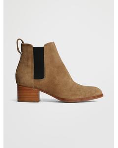 Walker Boot Camel Suede