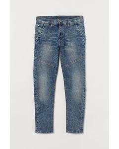 Skinny Jeans Denimblå
