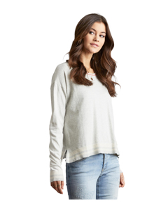 Hoower Sweater Light Grey Melange