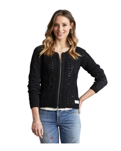 Fabulosa Cardigan Almost Black