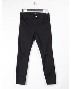Jeans Black Solid