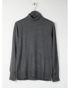 Pullover Grey Solid