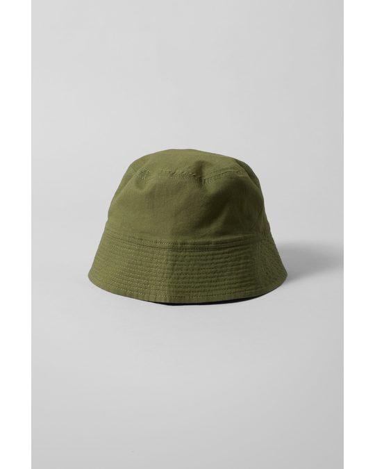 Weekday Cover Bucket Hat Dark Green