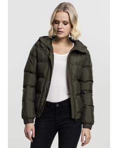 Ladies Hooded Puffer Jacket