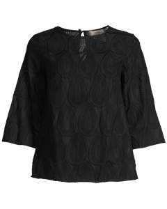 Ivy Top Black