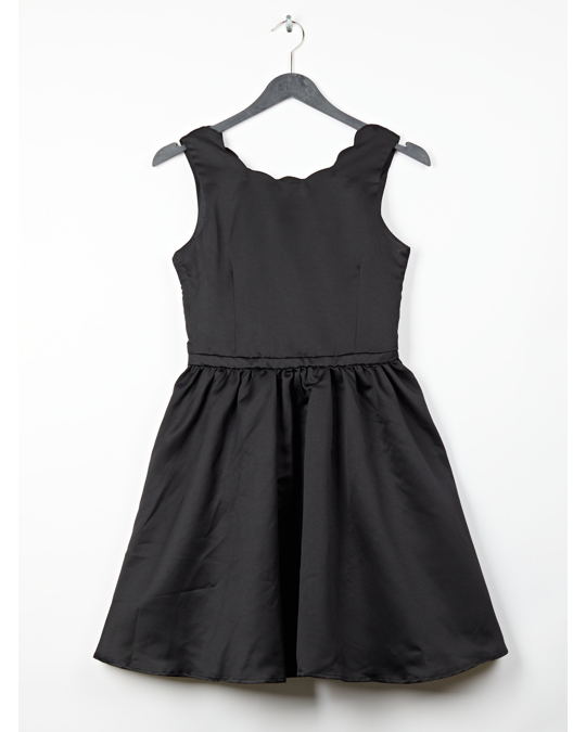 H&M Satin Dress Black