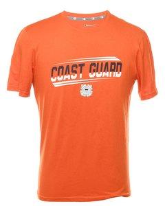 Champion Coast Gaurd Printed T-shirt