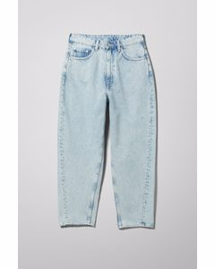 Meg High Mom Jeans Aqua Blue