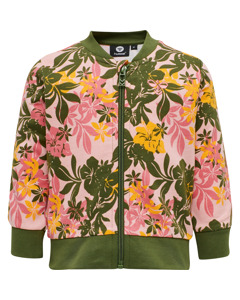Frida Zip Jacket Green