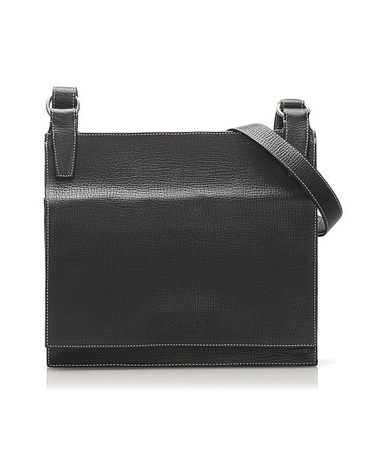 Loewe Loewe Leather Crossbody Bag Blue