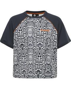 Snake T-shirt Short Sleeve Grey Snake