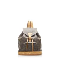 Louis Vuitton Monogram Mini Montsouris Brown