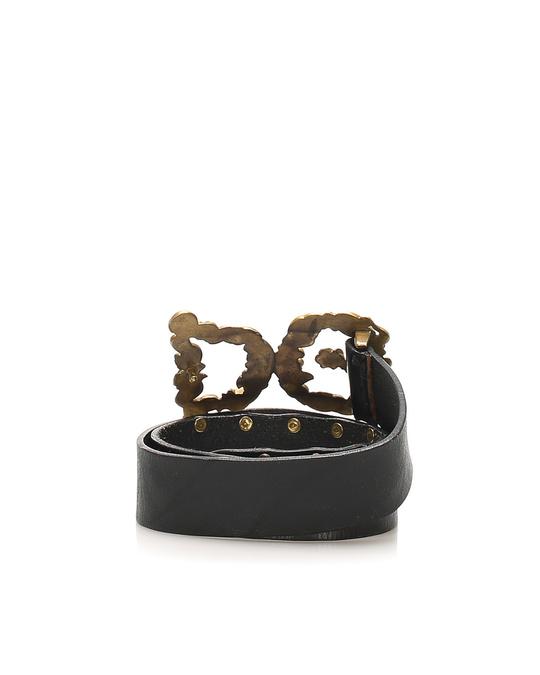 Dolce & Gabbana Dolce&gabbana Leather Belt Black