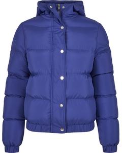 Damen Ladies Hooded Puffer Jacket
