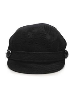 Burberry Corduroy Cap Black