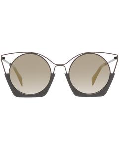 Yohji Yamamoto Mint Women Brown Sunglasses Yy7016 51115 51-22-145 Mm