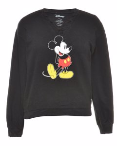 2000s Disney Mickey Mouse Cartoon Sweatshirt