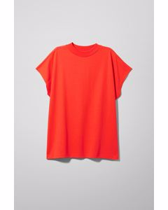 Prime T-shirt Bright Red