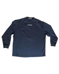 Black Spandex Sweatshirt
