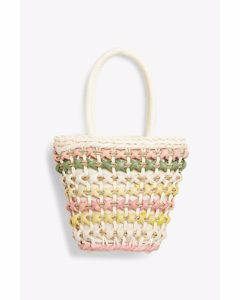 Woven Straw Bag Natural Straw