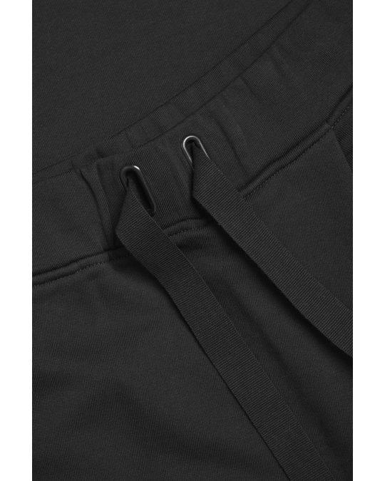 COS Wrap Trousers Black