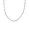 Chain Linked Halskette Large 40 Cm Stahl