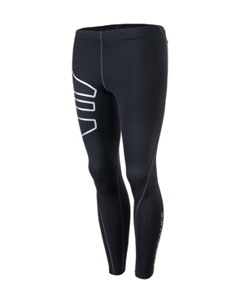 Crockett M Compression Long Tights Black