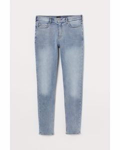 Skinny Jeans Ljus Denimblå/tvättad