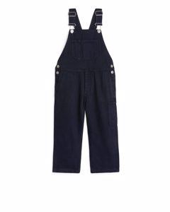 Cotton Lyocell Dungarees Dark Blue