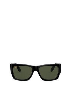 RB2187 shiny black Sonnenbrillen