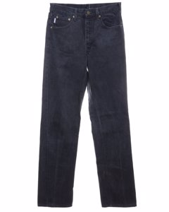 1990s Black Straight Fit Jeans