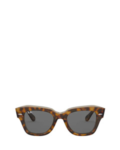 Rb2186 Havana On Transparent Brown Zonnenbrillen
