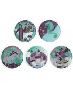 Klettie-Set mit verschiedenen Motiven II 17,5 cm