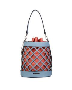 Bucket bag Frannie (Pastell Blau)