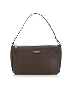 Burberry Leather Baguette Brown