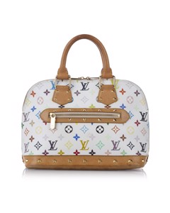 Louis Vuitton Monogram Multicolore Alma Pm White