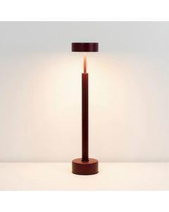 Piek Klein Licht Voor Tafel En Vloer - Bourgondisch Gelakt